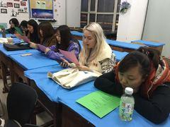 치치하얼 세종학당 노래 문화수업